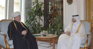 Mufti sheikh Ravil Gaynutdin met with the Prime Minister of Qatar