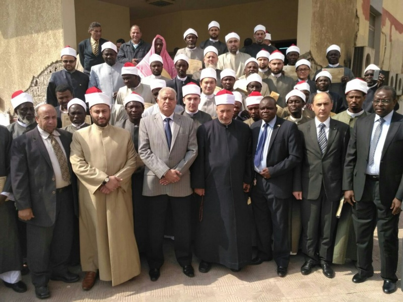 RMC muftis taken training course in Egypt