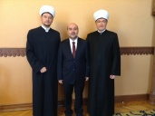 Head of Russia Muftis Council met with the religious advisor of the Turkish embassy