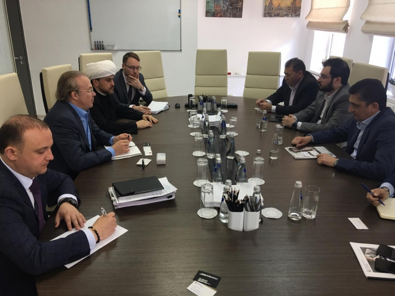 Syrian businessmen visit Moscow