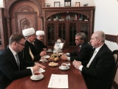 Meetings in anticipation of the opening of Moscow Jum'ah Mosque