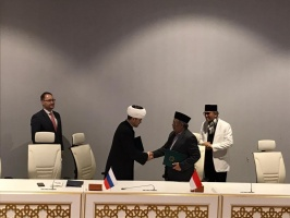 Cooperation between Russian and Indonesian Muslims