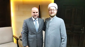 Moscow mufti meets Supreme judge of Palestine