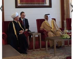 Mufti Sheikh Ravil Gainutdin sends congratulations to the King of Bahrain
