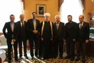 Mufti sheikh Ravil Gaynutdin received Mehmet Paçacı in his residency
