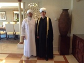 A meeting with the minister of the Sultanate of Oman