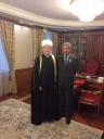 "Mufti Sheikh Ravil Gaynutdin Awarded Akim of Astana Imangali Tasmagambetov with First Class Order of Honour ""Al-Fakhr"""