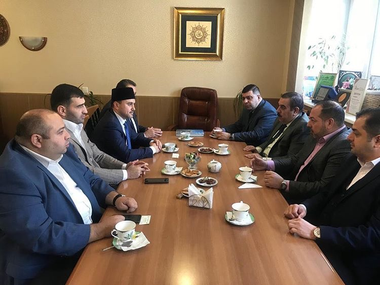 Iraqi delegation visits Russia Muftis Council