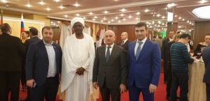 Ahmed Azimov attends reception at the Embassy of Sudan