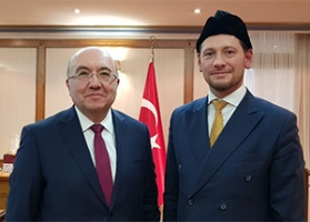 Meeting the new Turkish ambassador