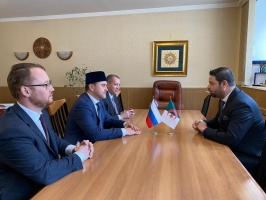 Rushan Abbyasov meets the minister-councellor of the Embassy of Algeria