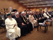 Mufti sheikh Ravil Gaynutdin represents Russian Muslims at the Meeting in Brussels