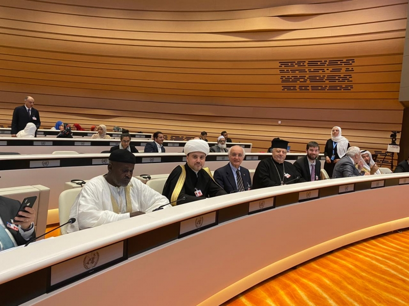 RMC delegation participates in international conference in Geneva