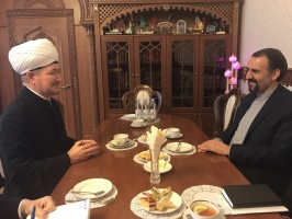 Mufti Gaynutdin meets Iranian ambassador in Moscow