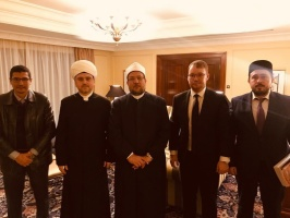 Meeting with the Minister of Awqaf of Egypt