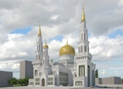 Turkish contractors will help decorate the walls of Moscow Jum'ah Mosque