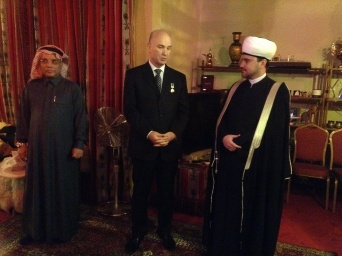 "Extraordinary and plenipotentiary ambassador of Algeria Smaïl Chergui awarded with Order of Honour ""Al-Fakhr"""