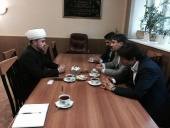 First RMC deputy chairman Rushan hazrat Abbyasov met with the head of the Organization of Qur'anic Activities of Iranian Universities Hamid Farzam