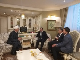 Delegation of Ministry of Foreign Affairs of Turkey visits Moscow Cathedral Mosque