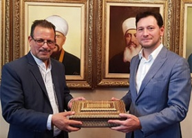 Damir Mukhetdinov meets head of Iranian representative office