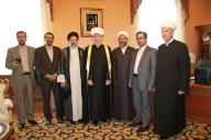 Mufti sheikh Ravil Gaynutdin met with the deputy head of judicial power of Iran
