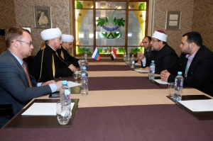 RMC Chairman meets Minister of Religious Affairs and Awqafs of Egypt