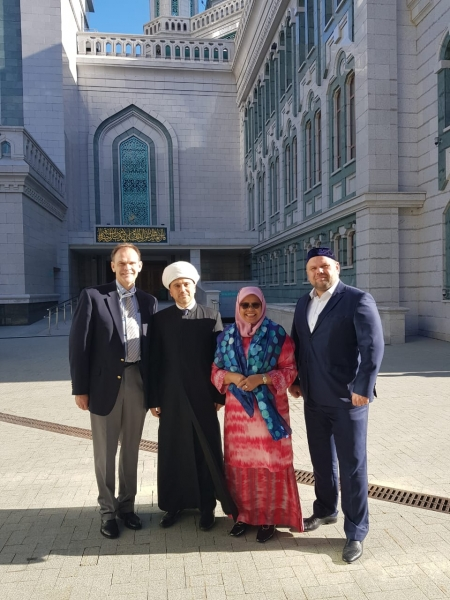 UN Deputy Secretary General visits Moscow Cathedral Mosque