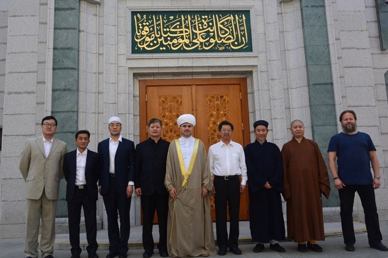 Chinese delegation visits Moscow Cathedral Mosque