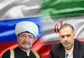 Mufti Sheikh Ravil Gainutdin and Iranian Ambassador agreed to strengthen cooperation