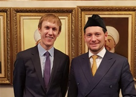 Damir Mukhetdinov meets a representative of the British embassy in Moscow