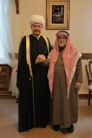 Mufti Sheikh Ravil Gaynutdin meets Muslim World League representative