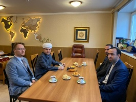 Rushan Abbyasov meets Advisor on Cultural and Religious Affairs of the Iranian Embassy