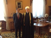 Chairman of Russia Muftis Council met with extraordinary and plenipotentiary ambassador of France