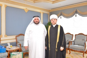 Meeting with the minister of Awkaf and Islamic affairs of the State of Qatar